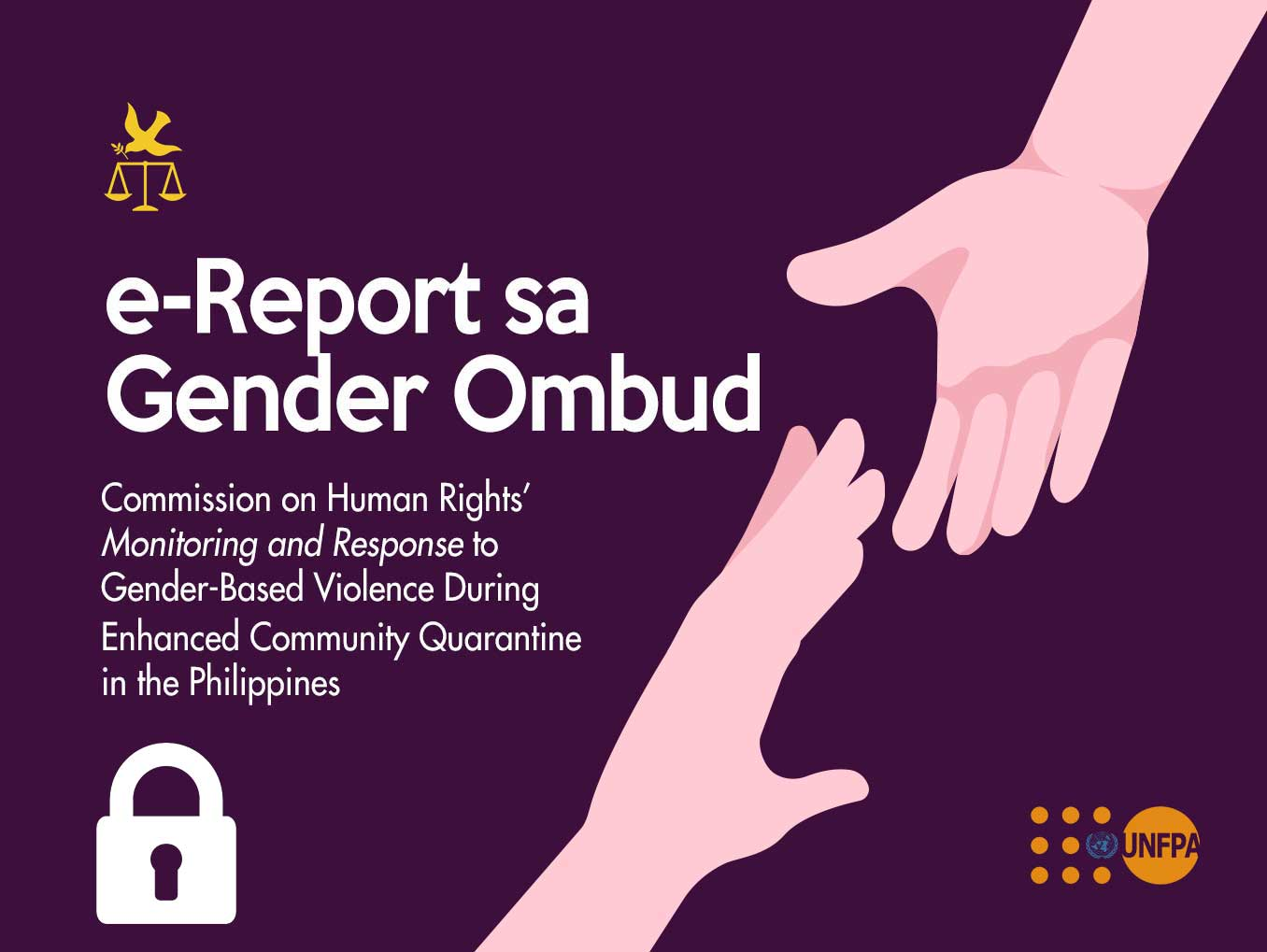 e-Report sa Gender Ombud banner image login